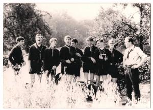 De eerste rowans van de stad, St. Tarcisiusgroep/Petrus Chanellgroep, 1967