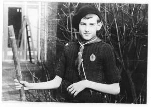 Zeeverkenner Jac van de Watering van de Scheldegroep, 1946