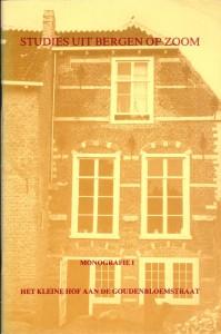 1978 Monografie 1 Het Kleine Hof aan de Goudenbloemstraat