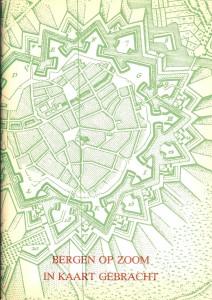 1981 Monografie 2 Bergen op Zoom in kaart gebracht