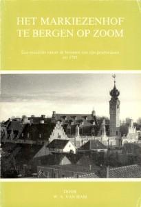 1986 Monografie 5 Het Markiezenhof te Bergen op Zoom
