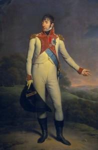 Louis Bonaparte was eigenlijk de 'ierste konijnk' van Nederland. Reden waarom Pleij schertste dat 200 jaar Koninkrijk eigenlijk in 2006 gevierd had moeten worden.