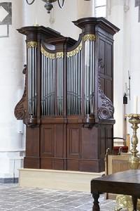 Het Rogierorgel (1863) afkomstig uit de voormalige Lutherse kerk aan de Faurestraat, en voordien de Margrietenkapel aan de Geweldigerstraat. Thans te zien en te horen in de Gertrudiskerk.