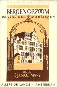Het boekje 'Stad der markiezen' verscheen in 1949 in de Heemschutserie en presenteerde de geschiedenis van de stad op een toegankelijke wijze