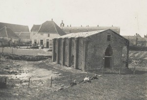 Het kruithuis Dumont tussen 1920 en 1930. Preceize datum niet nader bekend. SDUM036