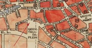 detail stadsplattegrond 1936 stoelematstraat