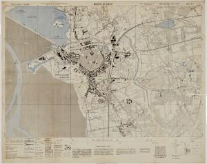 Canadese veldkaart uit 1944