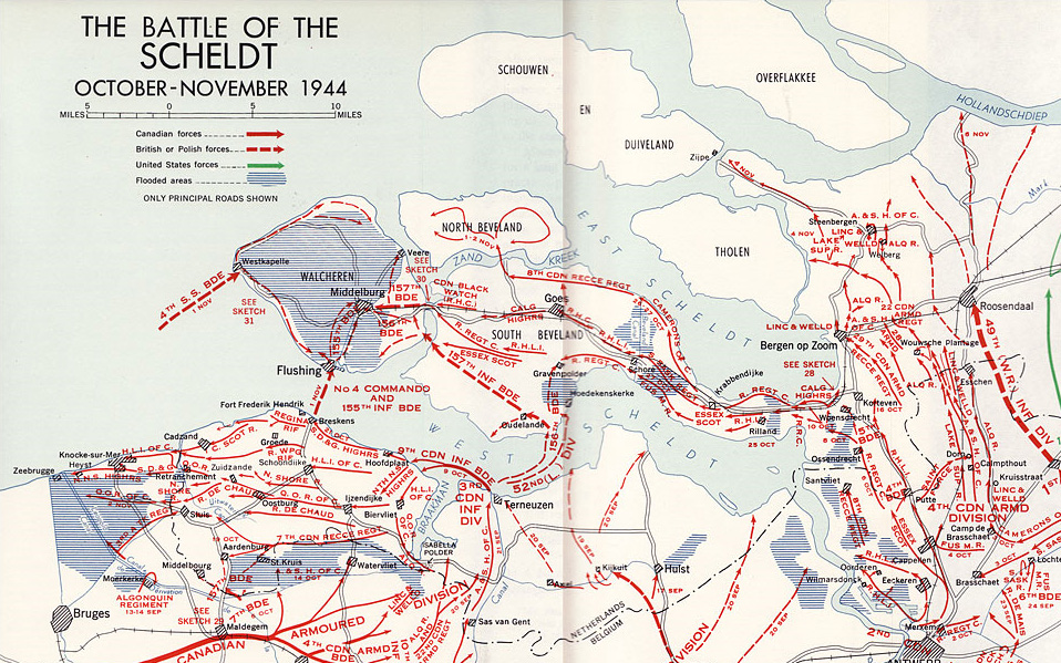 The Battle of the Scheldt