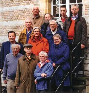 Een aantal docenten van de School voor Geschiedenis