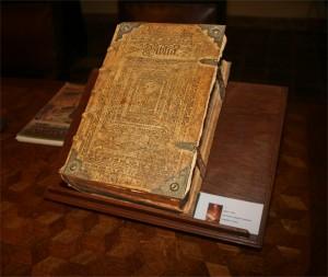 Een 17e eeuwse bijbel