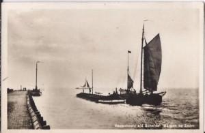 Scheepvaart langs de Waterschans (Kop van 't Hoofd)
