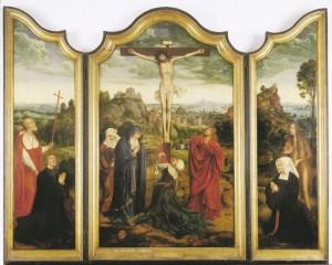 De triptiek van Quinten Metsys die ooit de Maagdkerk sierde