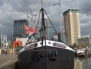 De Geertruida is nog in Rotterdam te bekijken