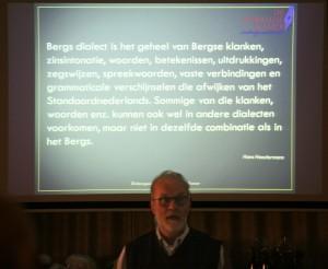 Dialect is een serieuze zaak als je de definitie van Heestermans leest