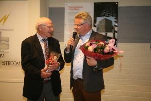 Cees Boerhout neemt afscheid, en wordt door Marc van der Steen in het zonnetje gezet