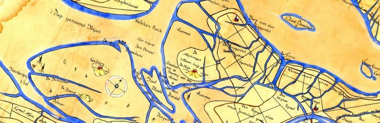 Gastelse kaart 1565 gedraaide uitsnede
