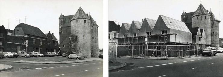 Twee foto's voor Bergen op Brokken