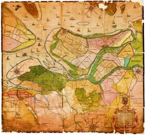 De kaart met sollicitatie van Indervelde bij prins Maurits