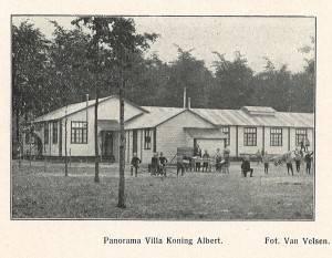 Villa Roi Albert was een speciaal onderdak voor wezen, en stond aan de Moerstraatsebaan (?)