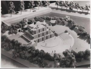 Het niet gerealiseerde plan uit 1968 om de muziekschool op het ravelijn te huisvesten