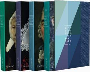 Geschiedenis van Zeeland, vier delen in cassette (Wbooks)